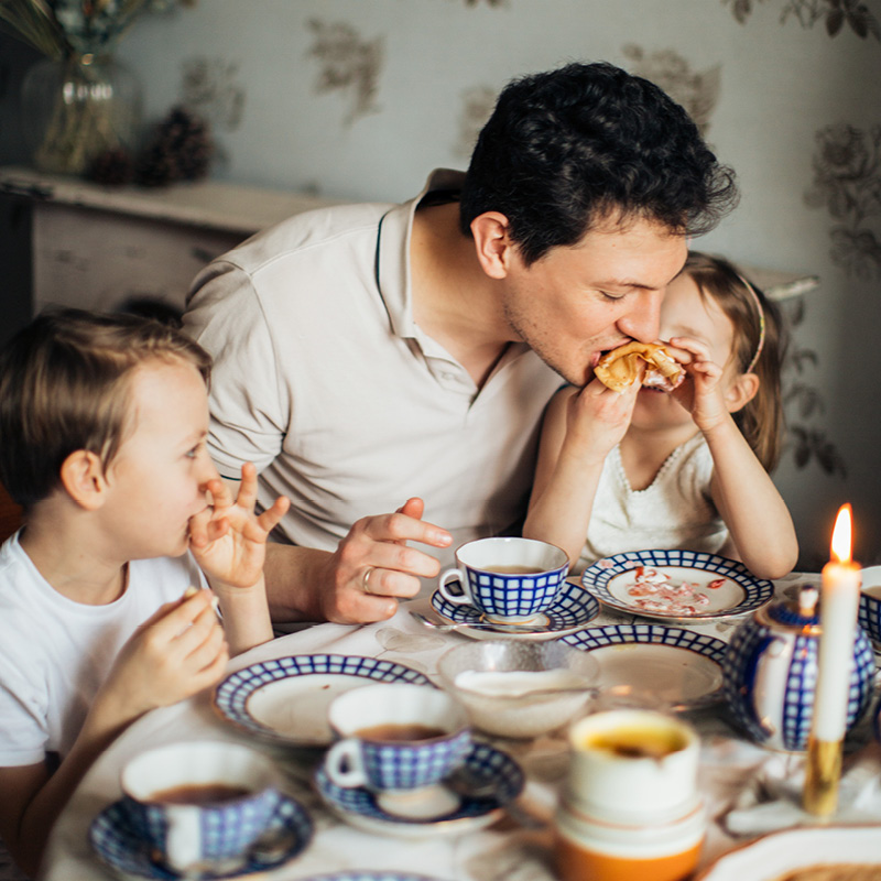 BayerBau Familie zuhause