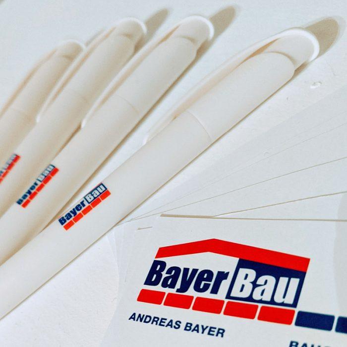 BayerBau Werbemittel