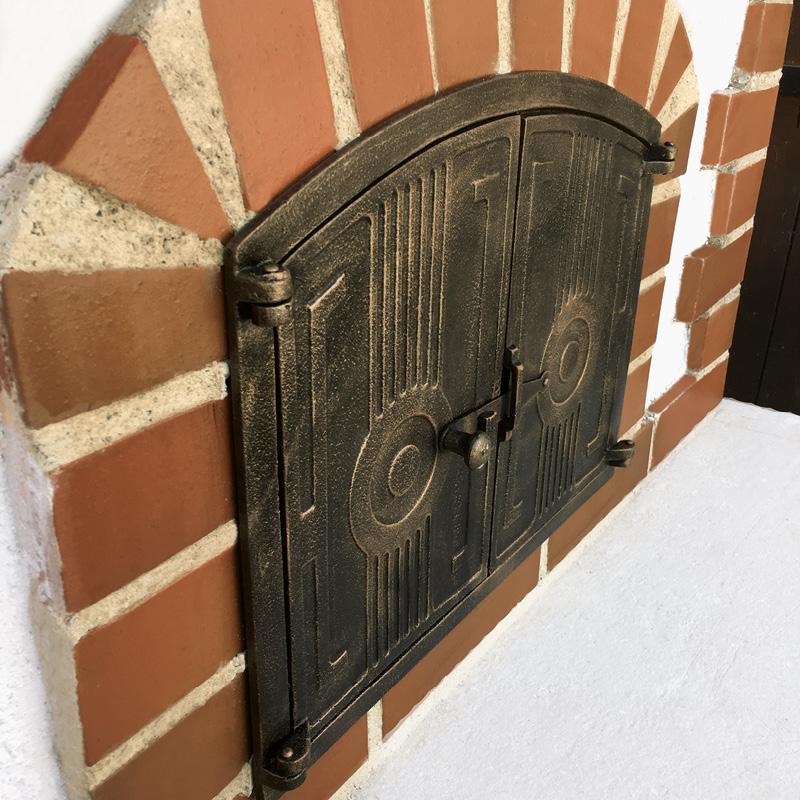 BayerBau Gartenofen Tür