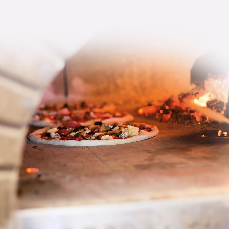 BayerBau Gartenofen Pizza