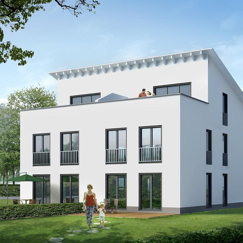 BayerBau Doppelhaus